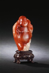 jiejing figure of buddha nile by lin zhifeng