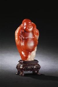 jiejing figure of buddha nile by lin zhifeng