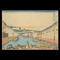 an album of thirty-six views of mt. fuji woodblock prints (36 works) by katsushika hokusai