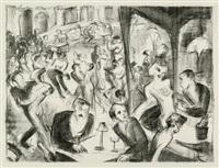 montmartre (bk w/12 works & title page, folio) by lou (lazar) albert-lazard