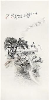 overlook the mountain by bu yishanren