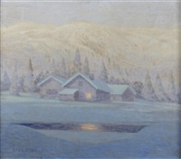 a winter's night by bror lind
