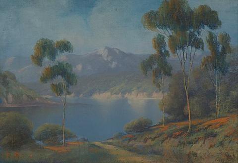 california landscape by harry linder