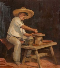 julio the potter by frederick almond zimmerman