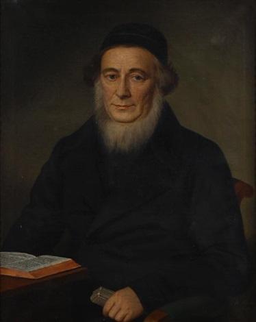 a portrait of a scholar by b fischer