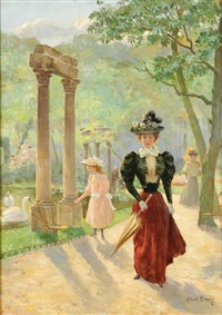 the promenade by albert baure