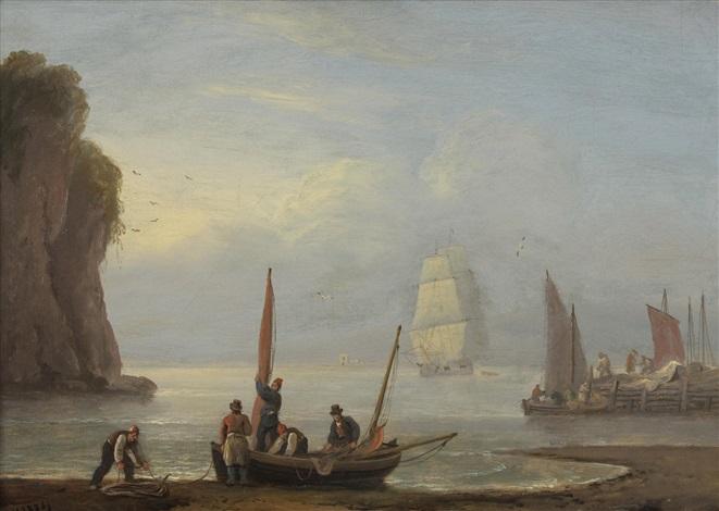 on the scottish coast by thomas luny