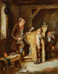 the schoolmaster's reprimand by mark william langlois