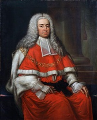 a portrait of sir william yorke, three-quarter-length by philip hussey