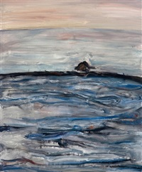 sea around moye island by ma hailong