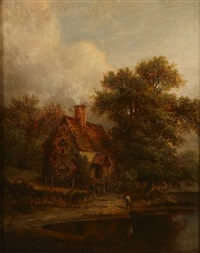 a view in surrey by patrick nasmyth