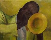 trumpet player by jonathan scott