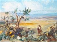 lone horseman by marco antonio gomez