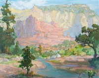 canyon landscape by peter adams