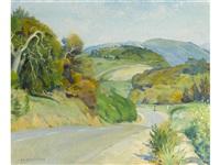 highway, carmel valley by abel george warshawsky