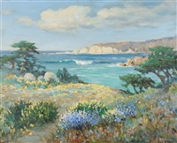 may day, big sur coast by frank montague moore