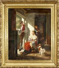 Familienidyll, 1881