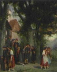 nach dem kirchgang by adolf leonhardt