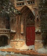 a doorway by edwin deakin