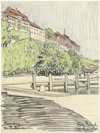 meersburg am bodensee by fritz bleyl
