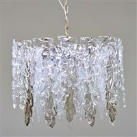 vetrerie colonna chandelier by murano