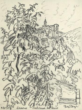 locarno madonna del sasso castell gandolfo albaner berge 2 works by fritz bleyl