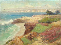 la jolla coast by frederick carl smith