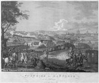 surprise de mannheim le 18. sept. 1799 by johann lorenz rugendas the younger