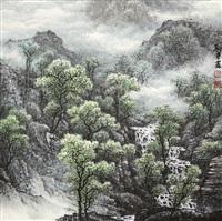 landscape by liu bingxin