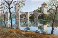 the bridge at cahors by james kramer