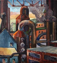 industrial scene by minora aoki