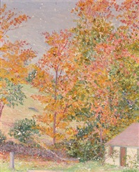 new hampshire landscape by lilla cabot perry