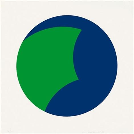 blau grün by leon polk smith