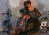 jacqueline avec son fils by kiro urdin