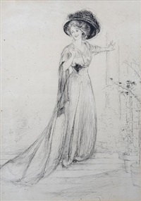 portrait of marion fairweather by gertrude partington albright
