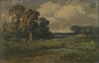 oak trees in yolo county by william franklin jackson