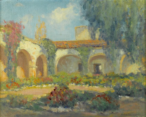 mission arches san juan capistrano by arthur hill gilbert