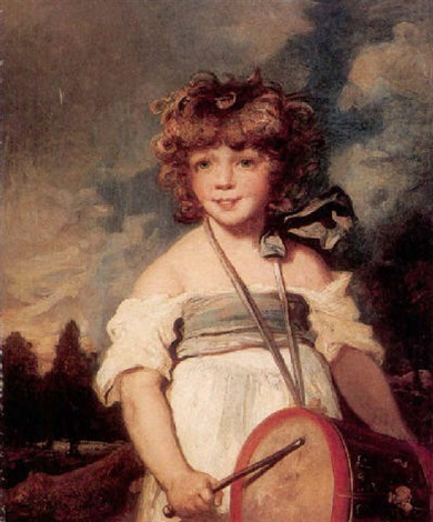 The young drummer girl by Joshua Reynolds on artnet