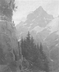 gebirgslandschaft by wilhelm amrhein
