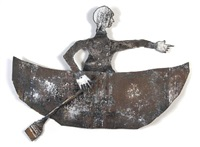 one man small boat one very big ocean (+ soul of mildred horn, lrgr; 2 works) by clyde angel