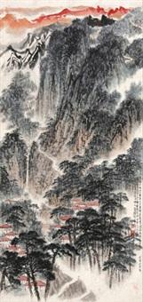 庐山图 by song wenzhi