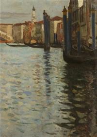 venetian scene by eugene lawrence vail