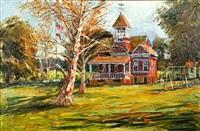 santa clara school house by ben abril