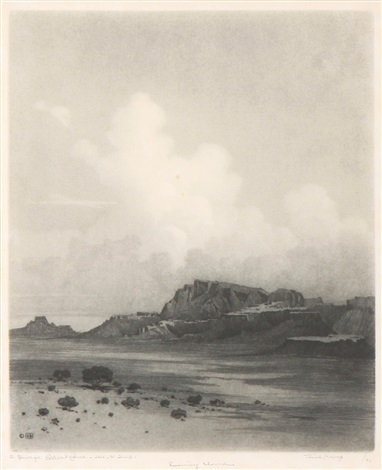 evening cloud by george elbert burr