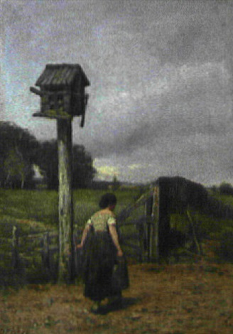 the old dove cot by d. fisher