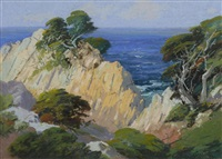 monterey coast by carl sammons
