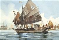 junkboat by yong mun sen
