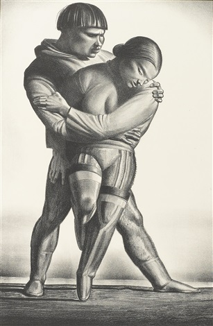 greenland courtship by rockwell kent