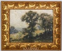tree lined meadow by hamilton hamilton