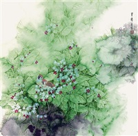 flowers and birds by liu rongying